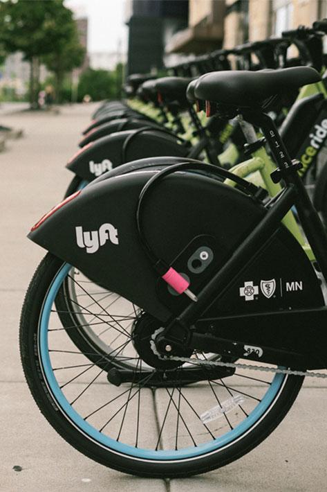 Flotte de vélos électriques