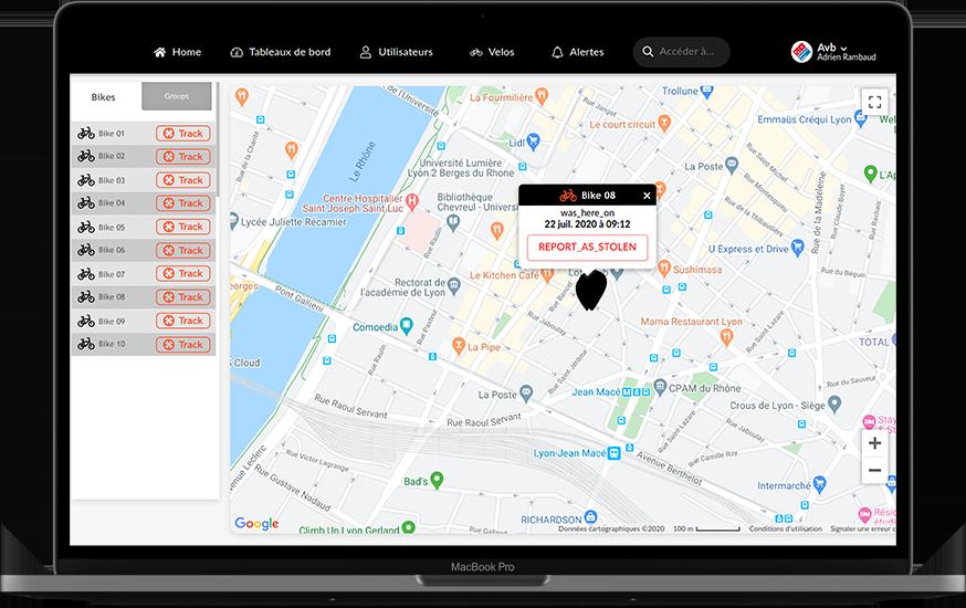La plateforme Morio permet de tracer votre flotte de vélos électriques
